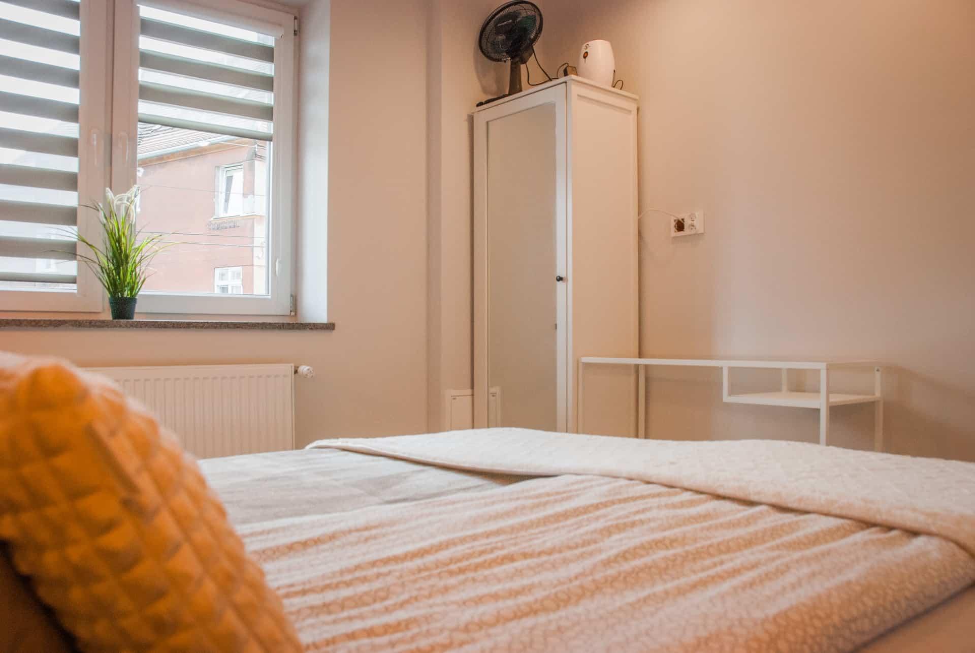 Piękna sypialnia w pensjonacie