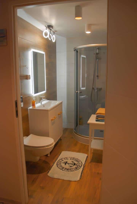 Wygodna łazienka
